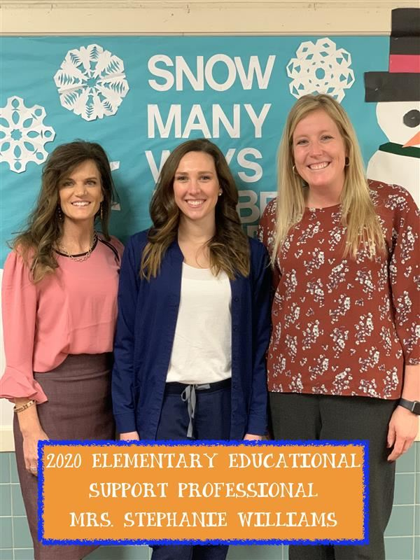 2020 Elementary Educational Support Professional of the Year