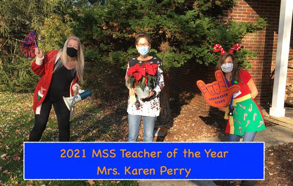 2021 MSS Governor's Educator of the Year