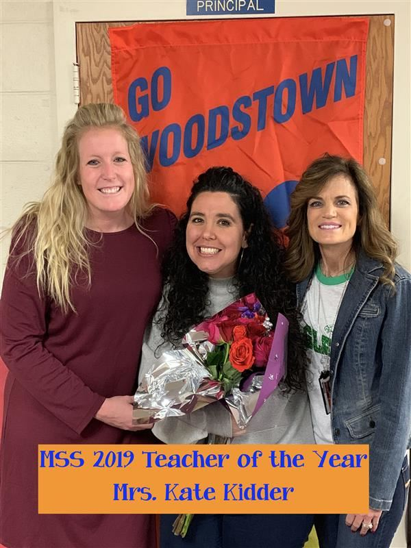 MSS 2019-2020 Teacher of the Year