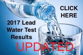 2017 Lead Water Test Results