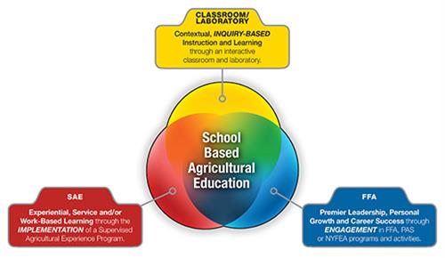 3- Circle Model of Ag Education