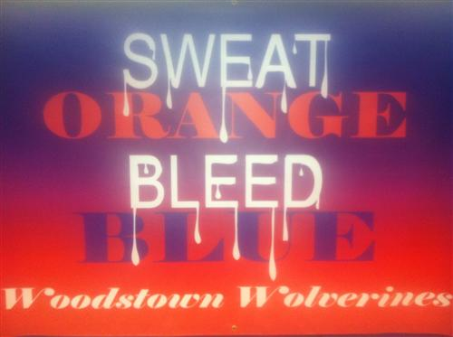 Sweat Orange Bleed Blue